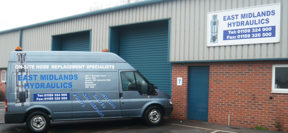 Contact East Midlands Hydraulics Ltd